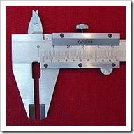Vernier caliper picture borrowed from Wikipedia