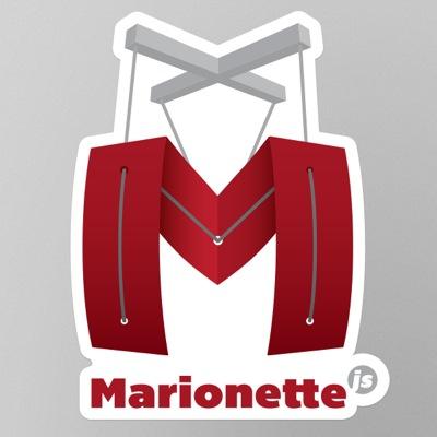 Marionette sticker detail