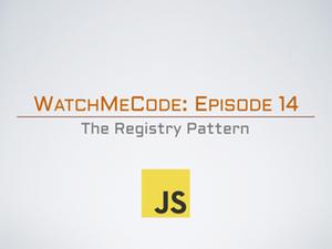 Registry pattern