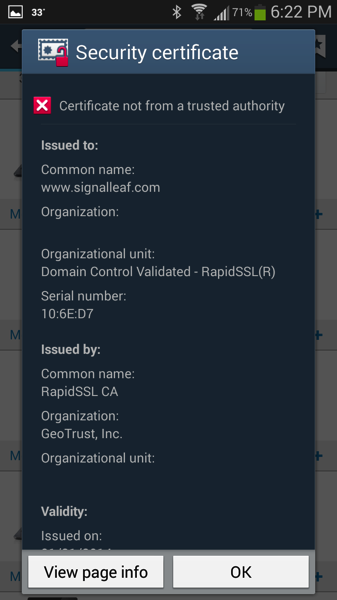 "Heroku And SSL: Fixing ""This site's security certificate is"