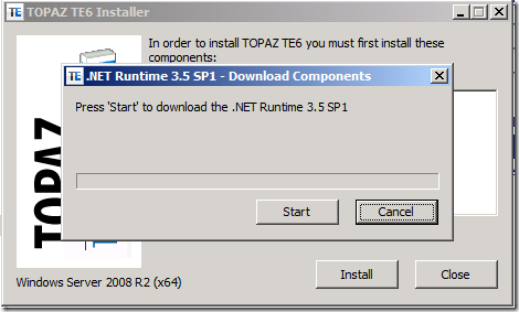 creating a bootstrapper with dotnetinstaller · los techiesDotNetInstaller.exe #18