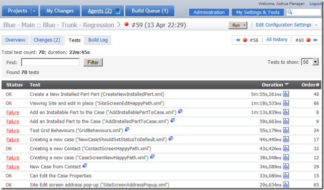 Integrating a custom test runner with TeamCity · Los Techies