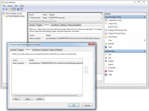 Create Task in Windows Task Scheduler